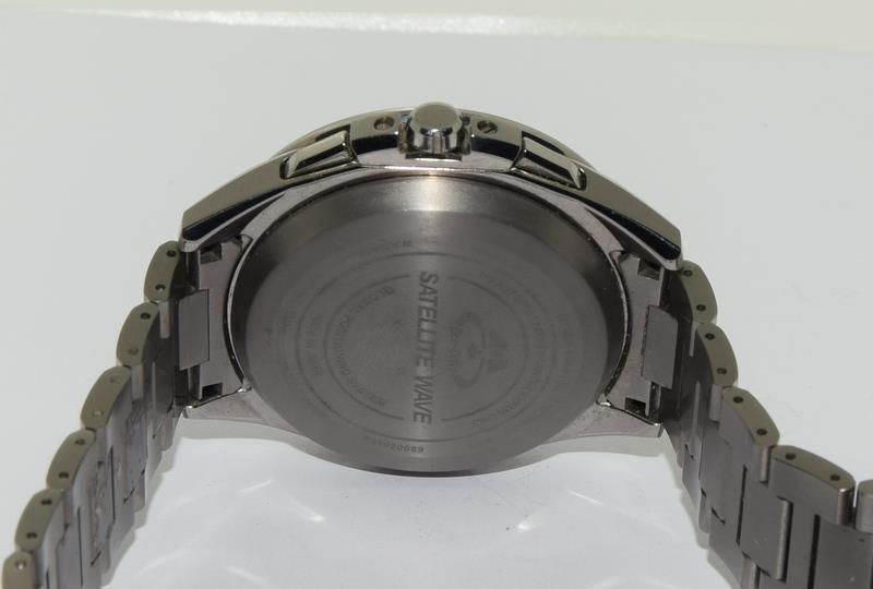 Citizen Eco-Drive Satellite eave Steel mans watch. - Image 7 of 13