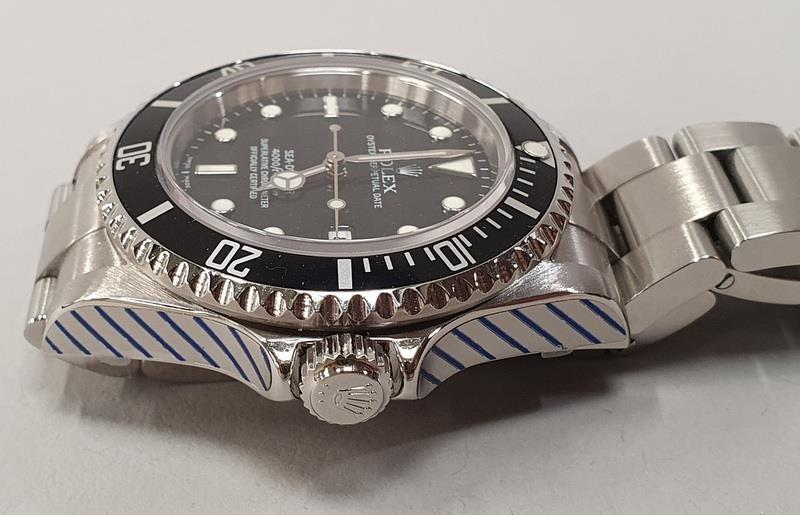 Rolex Sea-Dweller Watch 16600, box & papers, dated 2006. - Image 5 of 11