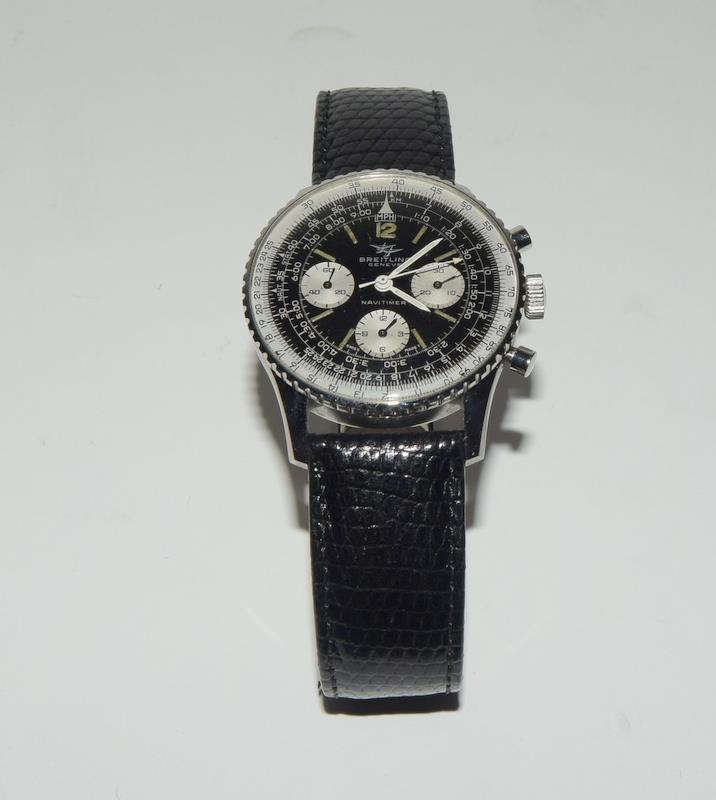 Breitling Navitimer 806 Wristwatch with papers. Date 1968. - Image 4 of 8