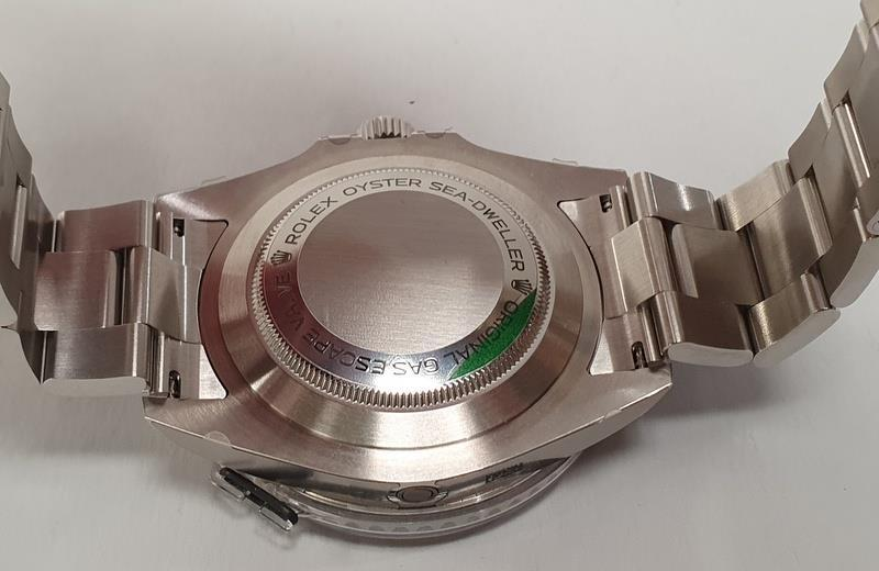 Rolex Anniversary Red Sea Dweller, boxed and papers, unworn with stickers. - Image 10 of 10