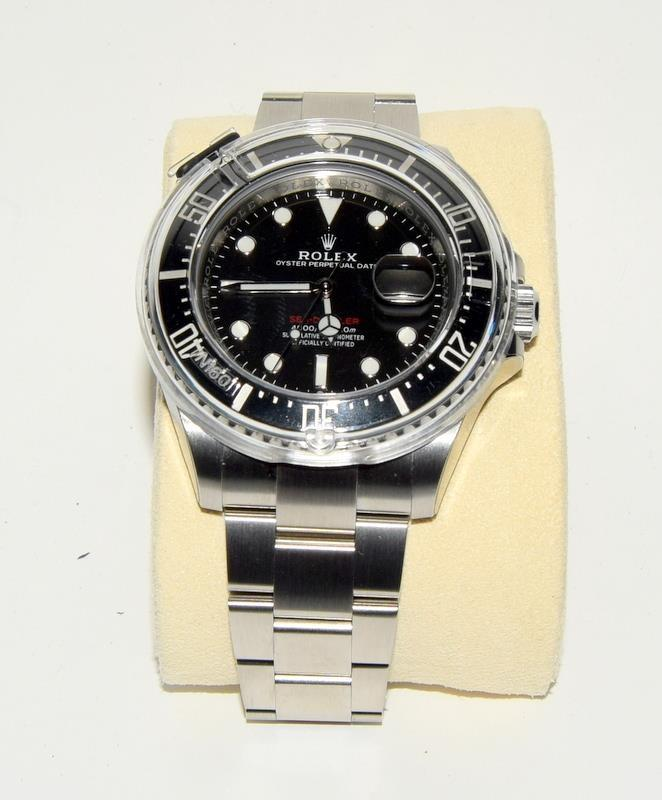 Rolex Anniversary single Red Sea-Dweller Wristwatch, boxed. - Image 2 of 7