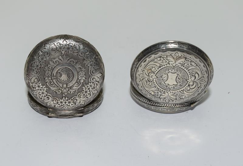 2 Silver pocket watches. - Image 3 of 6