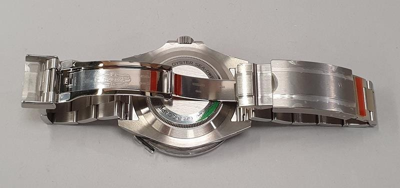Rolex Anniversary Red Sea Dweller, boxed and papers, unworn with stickers. - Image 8 of 10