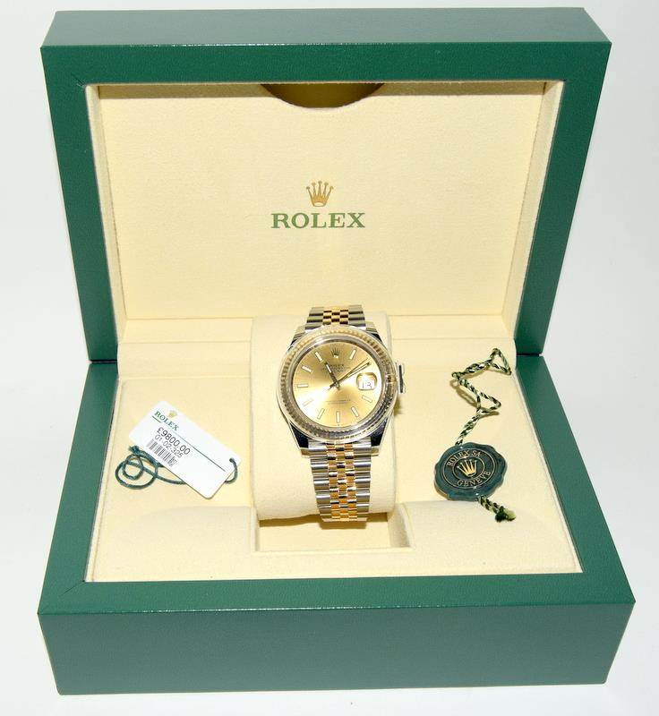 Rolex 41 Stainless Steel & Yellow Gold - Image 5 of 10