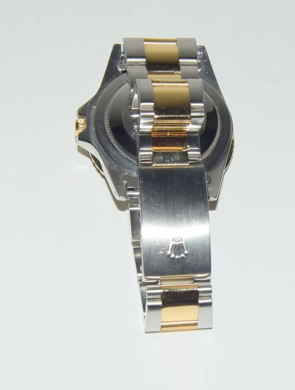 Rolex Bi Metal GMT Master Wristwatch, Dial. Serial No.8781026. - Image 14 of 16