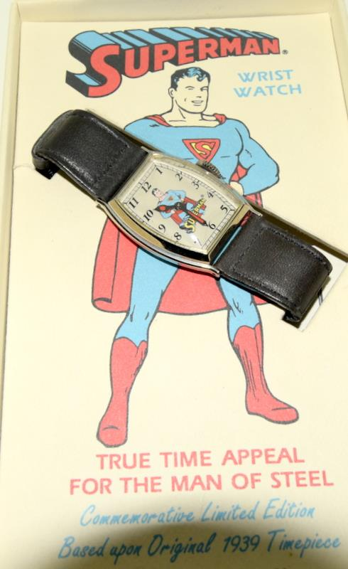 Superman Limited Edition wristwatch (based on the original 1939) by DC Comics. - Image 2 of 4