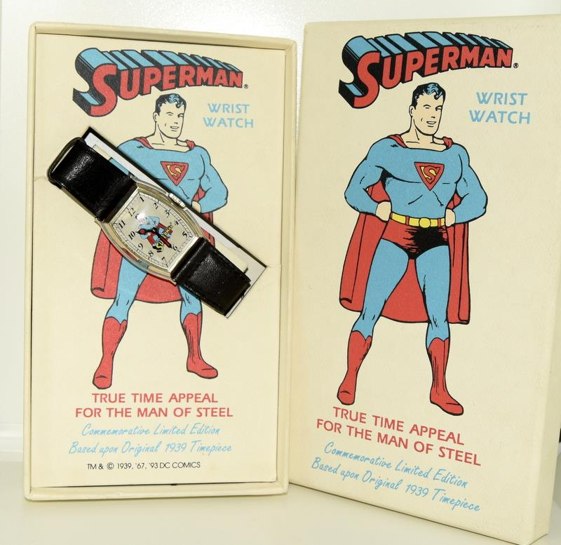 Superman Limited Edition wristwatch (based on the original 1939) by DC Comics.