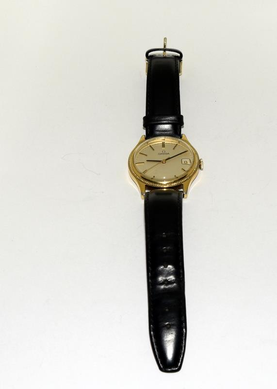 Gold Plated Vintage Omega Manual Wind Wristwatch. - Image 2 of 7