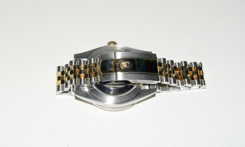 Rolex 41 Stainless Steel & Yellow Gold - Image 9 of 10