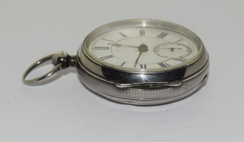 Silver Pocket Watch. - Image 6 of 12