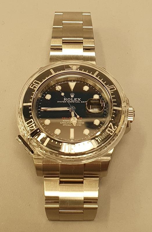 Rolex Anniversary Red Sea Dweller, boxed and papers, unworn with stickers. - Image 2 of 10