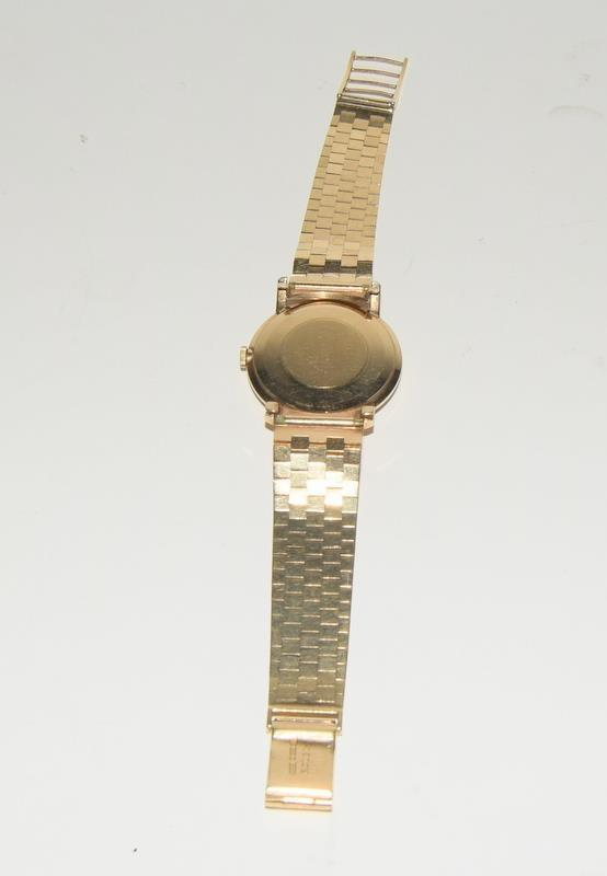 9ct Gold Rolex Precision wristwatch on original Rolex Gold bracelet. - Image 6 of 8