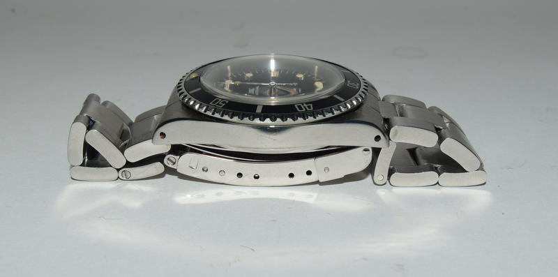 Rolex Submariner Spider Dial wristwatch. Model No.5513, boxed. - Image 5 of 8
