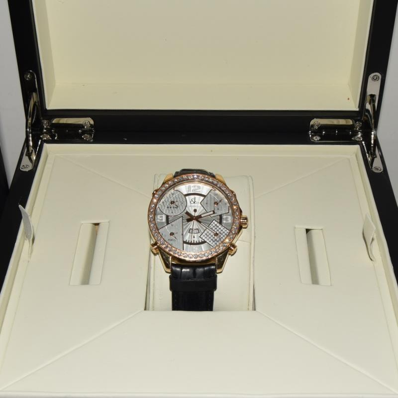 18ct Jacob & Co World Time Gents wristwatch, boxed. - Image 8 of 8