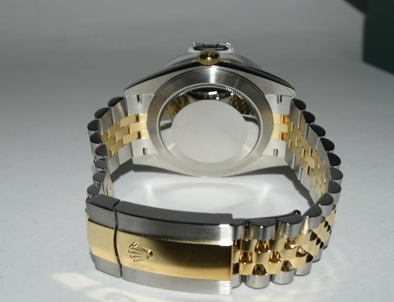 Rolex 41 Stainless Steel & Yellow Gold - Image 8 of 10