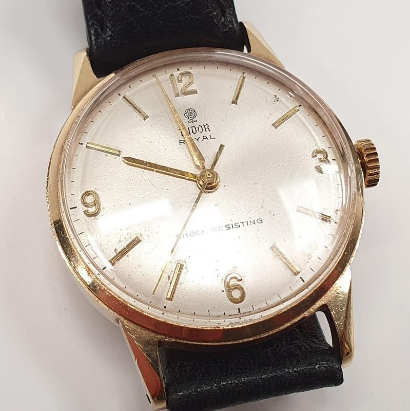 9ct Gold Tudor Royal Wristwatch - 1980's. - Image 2 of 4