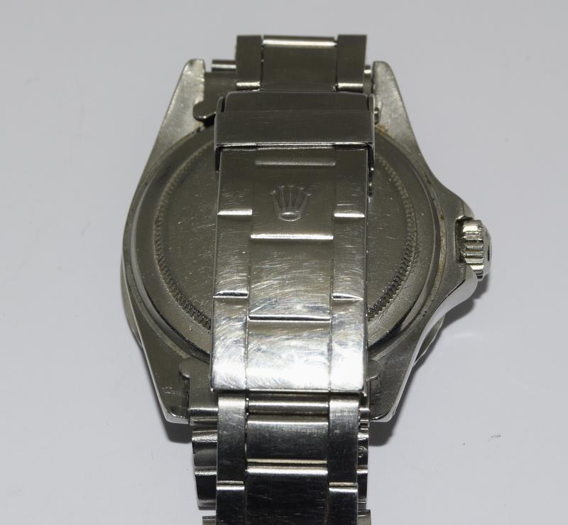 Rolex 1680 'Single Red' Submariner gents wristwatch . Movement 1570 number 306#### 1970s dial has - Image 7 of 11