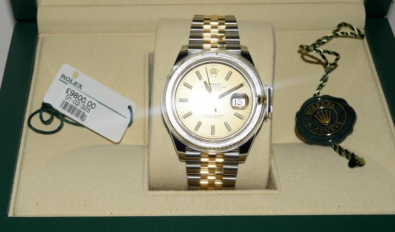 Rolex 41 Stainless Steel & Yellow Gold - Image 10 of 10