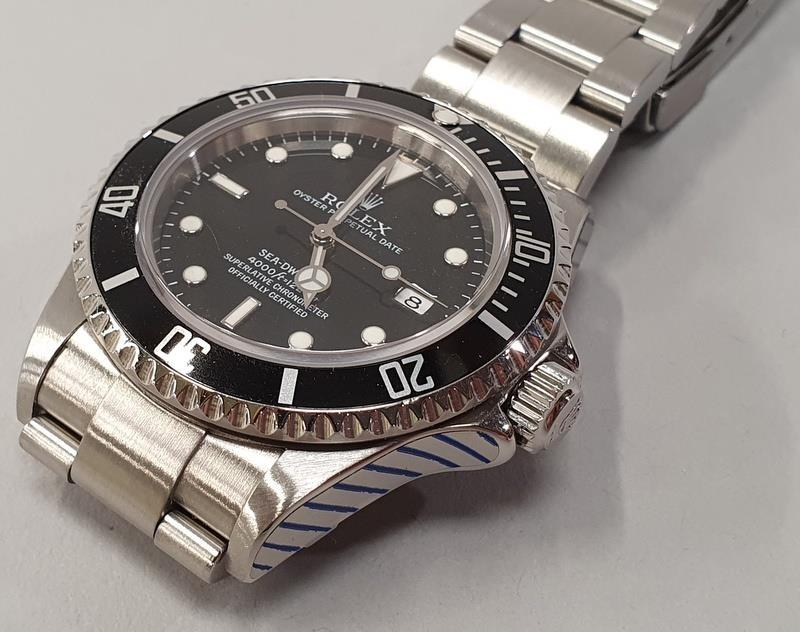 Rolex Sea-Dweller Watch 16600, box & papers, dated 2006. - Image 4 of 11
