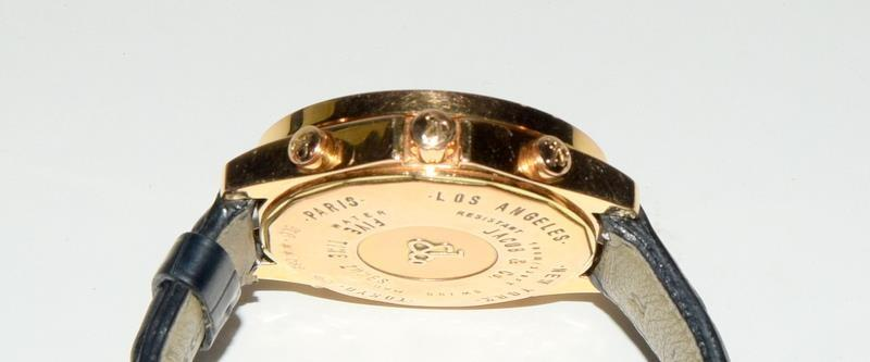 18ct Jacob & Co World Time Gents wristwatch, boxed. - Image 6 of 8