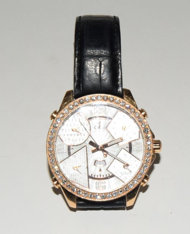 18ct Jacob & Co World Time Gents wristwatch, boxed. - Image 5 of 8