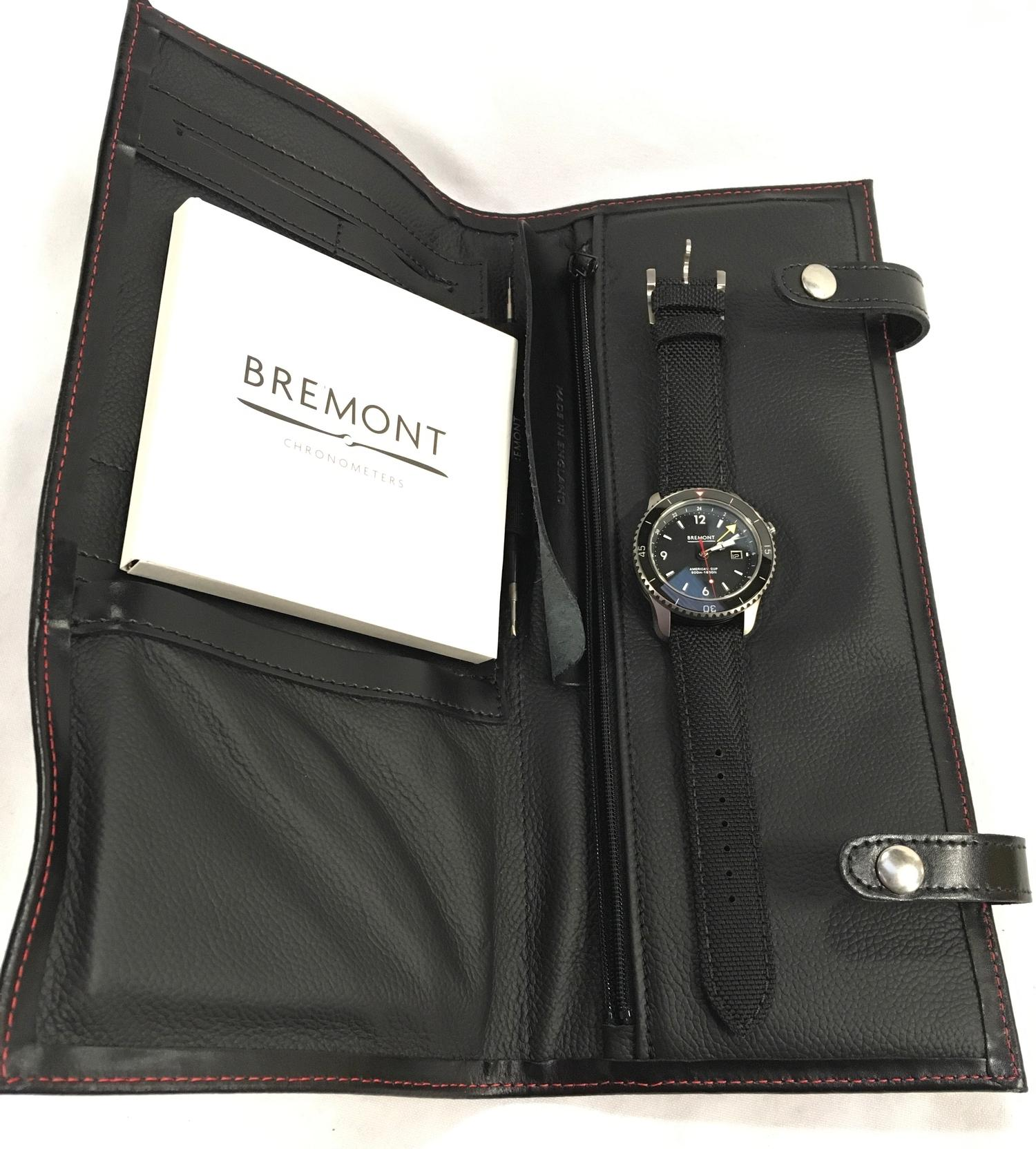 Stainless Steel Bremont America's Cup Watch, as new and complete, Limited Edition No 007/535. - Image 2 of 10