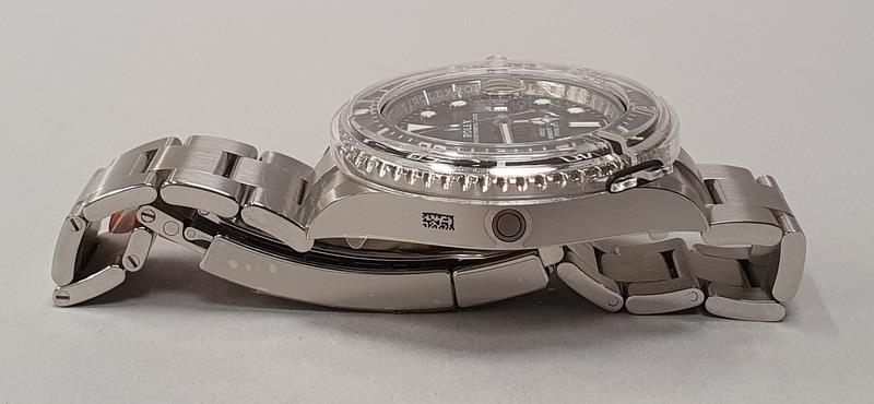 Rolex Anniversary Red Sea Dweller, boxed and papers, unworn with stickers. - Image 6 of 10