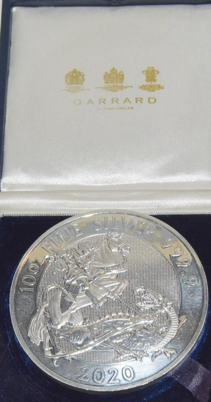 10oz Silver 999.9 Coin, Boxed - Image 4 of 12