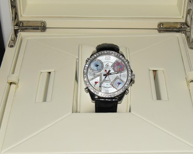 Jacob & Co Stainless Steel Gents World Time Wristwatch, boxed. - Image 7 of 7