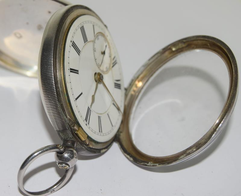 Silver Pocket Watch. - Image 8 of 12