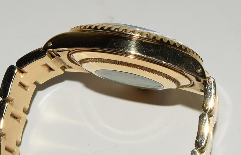 Rolex 18ct Gold Yachtmaster Wristwatch in original box. - Image 5 of 8