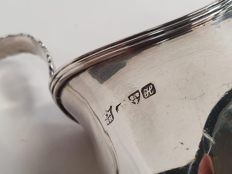 George III silver cream jug - Chester 1908. - Image 3 of 3