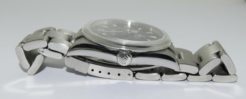Rolex Explorer 1 Oyster watch - 36mm with bezel protector, spare link. Excellent condition, with - Image 4 of 10