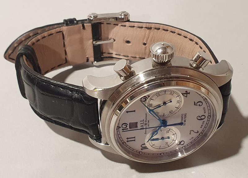 Gentleman's Automatic Chronograph Watch by Ball with box and papers. - Image 3 of 5