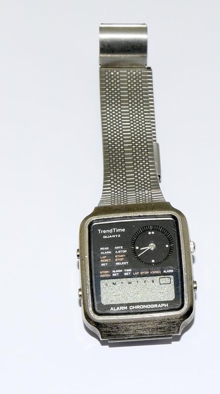 Vintage Trend Time Alarm Chronograph Watch