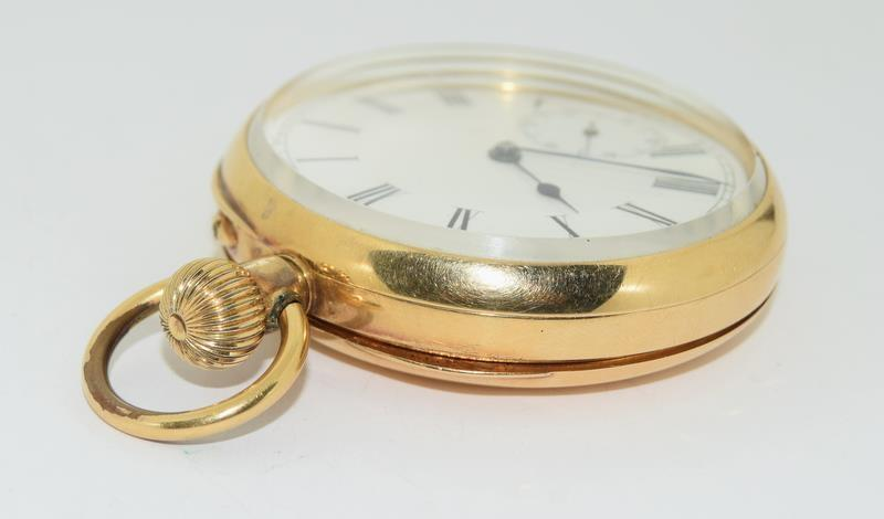 18ct Gold Full Face Pocket Watch. - Image 15 of 20