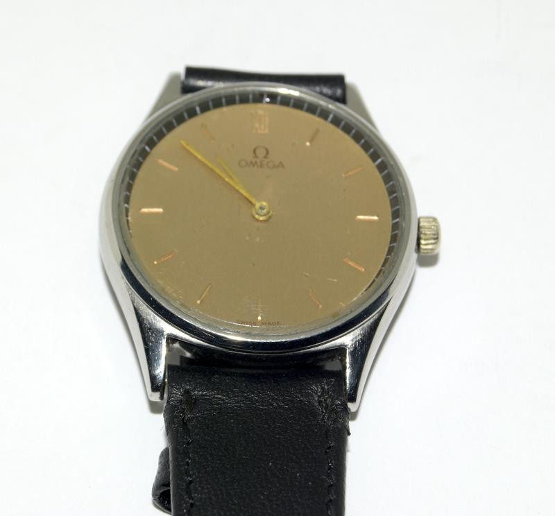 Stainless Steel Vintage Omega Manual Wind CAL G25 Watch - Image 6 of 8