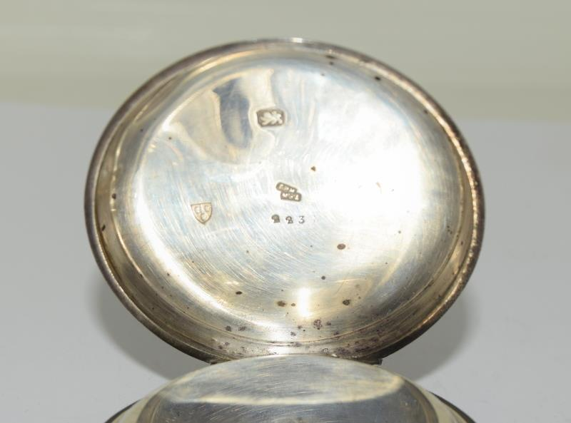 Silver Pocket Watch. - Image 9 of 12