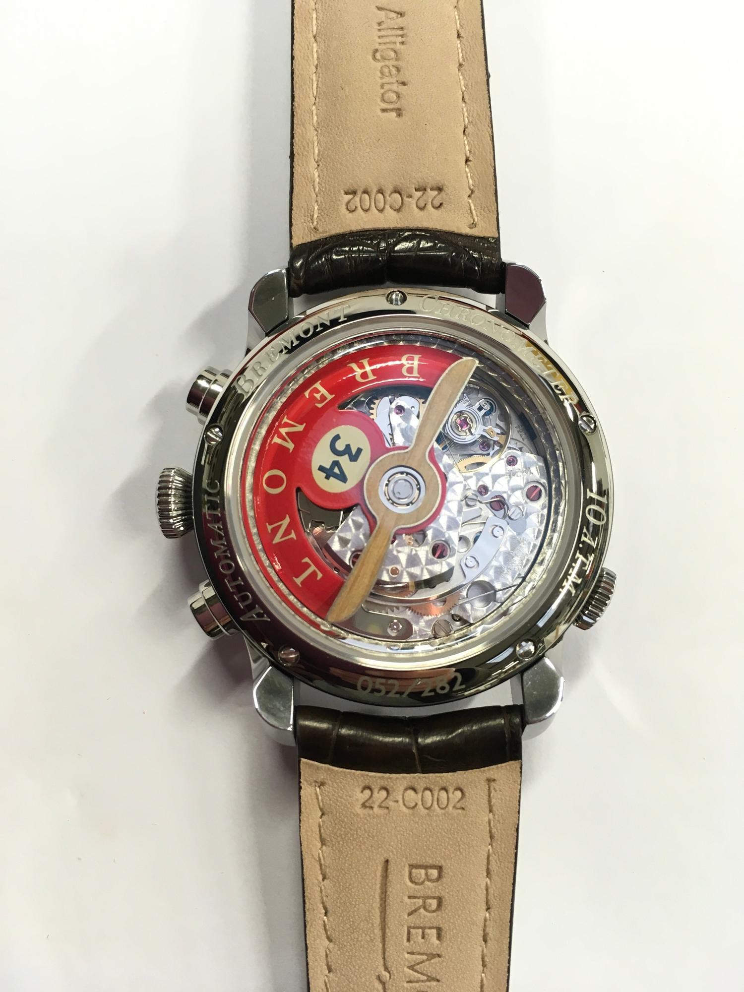 Bremont Stainless Steel gents watch, DH-88 Comet Limited Edition. - Image 6 of 11