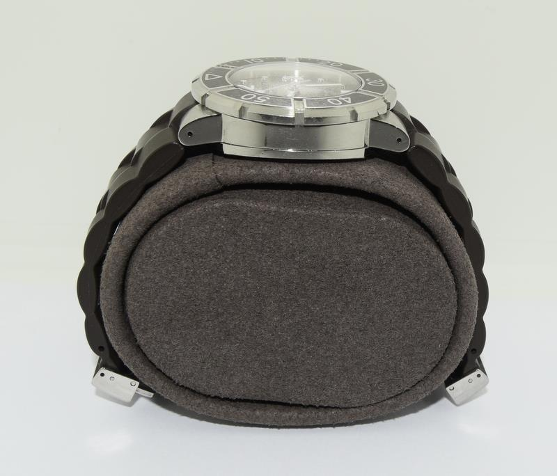 Chaumet Class One mid size Automatic wristwatch - Ref W17282-38C with inner box and some papers. - Image 4 of 8