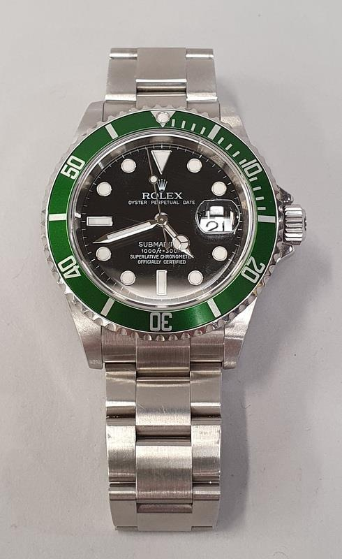 Rolex Submariner 16610, with service box and papers. - Image 2 of 10
