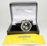 Breitling Navitimer 806 Wristwatch with papers. Date 1968.