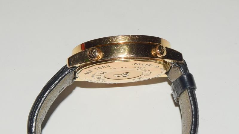 18ct Jacob & Co World Time Gents wristwatch, boxed. - Image 7 of 8