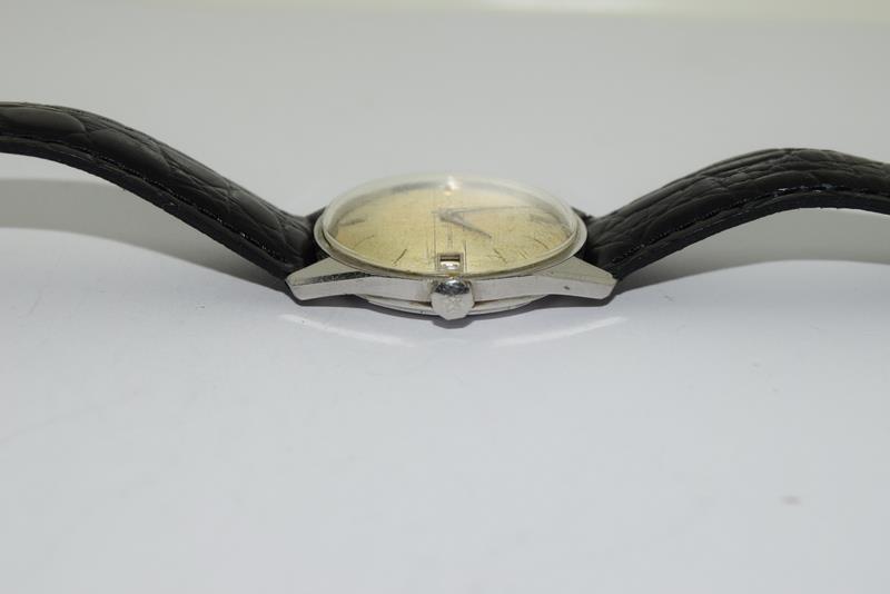 Zenith manual wind gents wrist watch. - Image 4 of 8