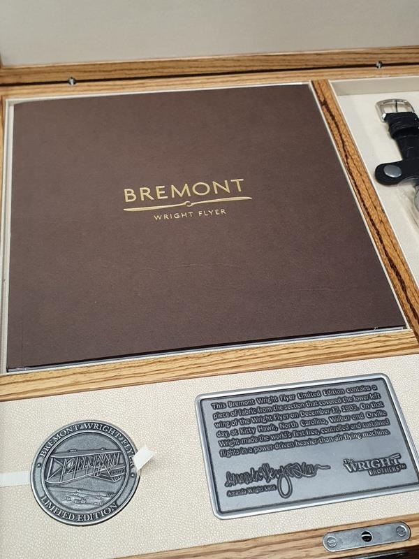 Bremont Wright Flyer Limited Edition Watch No61/300, unworn. - Image 3 of 6
