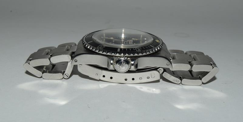 Rolex Submariner Spider Dial wristwatch. Model No.5513, boxed. - Image 4 of 8