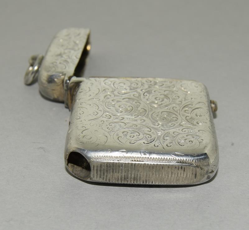 Silver Vesta Case with Fitted Match Ejector - Image 7 of 7