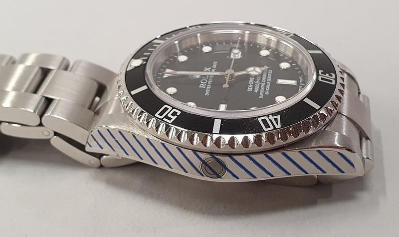 Rolex Sea-Dweller Watch 16600, box & papers, dated 2006. - Image 6 of 11