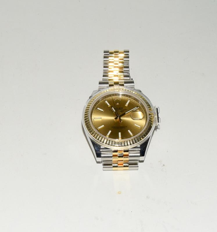 Rolex 41 Stainless Steel & Yellow Gold - Image 3 of 10