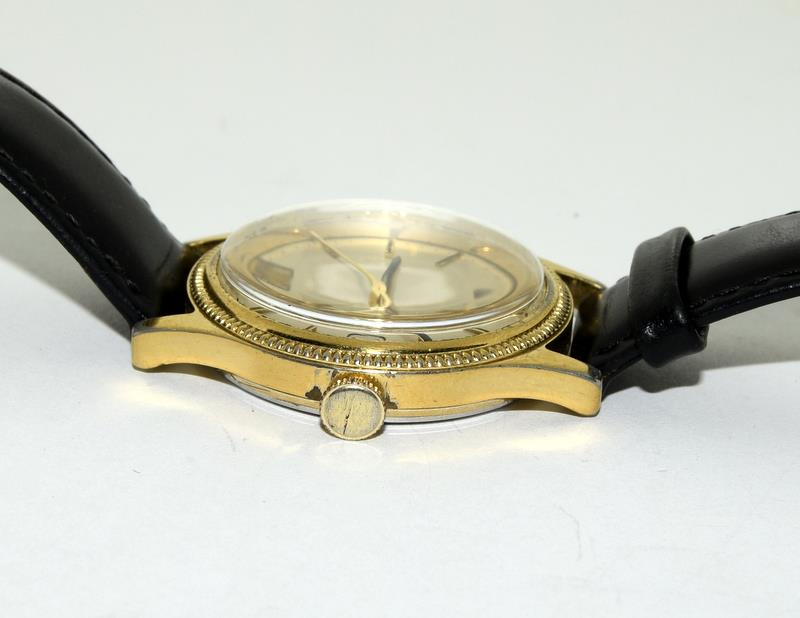 Gold Plated Vintage Omega Manual Wind Wristwatch. - Image 3 of 7